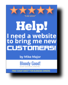 I need a website to get bloody good results for my business